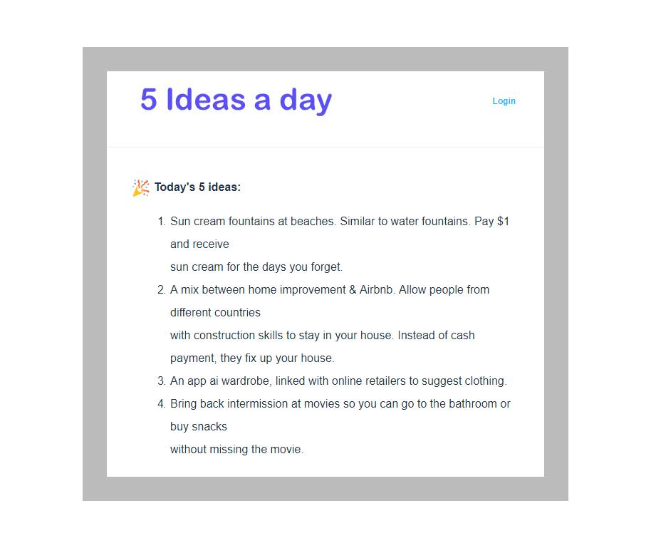 newsletter per imprenditori