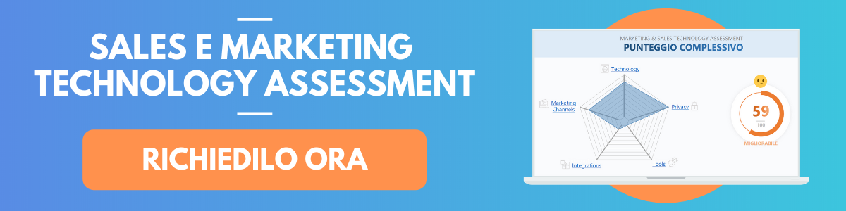 SALES & MARKETING TECHNOLOGY ASSESSMENT