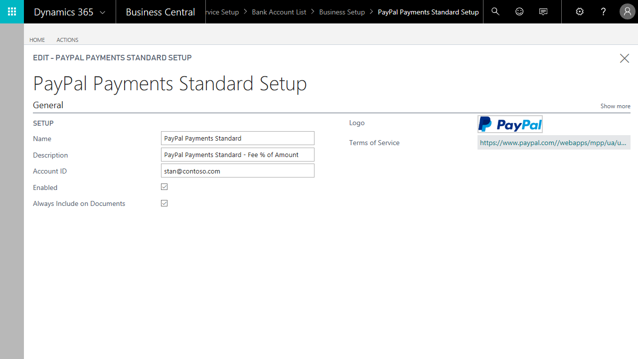 integrazioni per Microsoft Dynamics 365